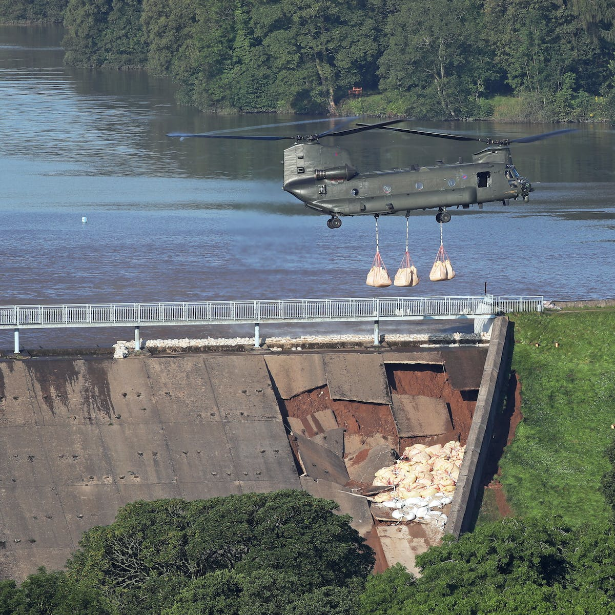 Whaley Bridge dam collapse is a wake-up call: concrete