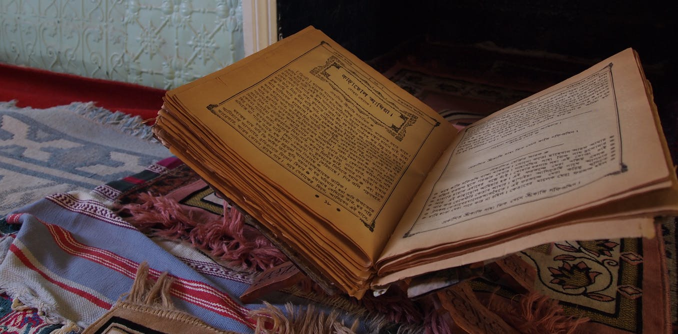 Friday essay: how a Bengali book in Broken Hill sheds new light on Australian history