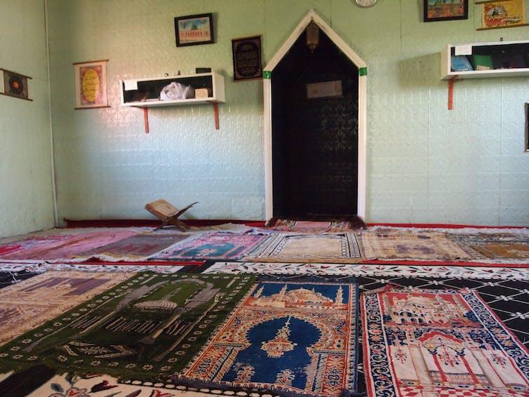 mosque's interior