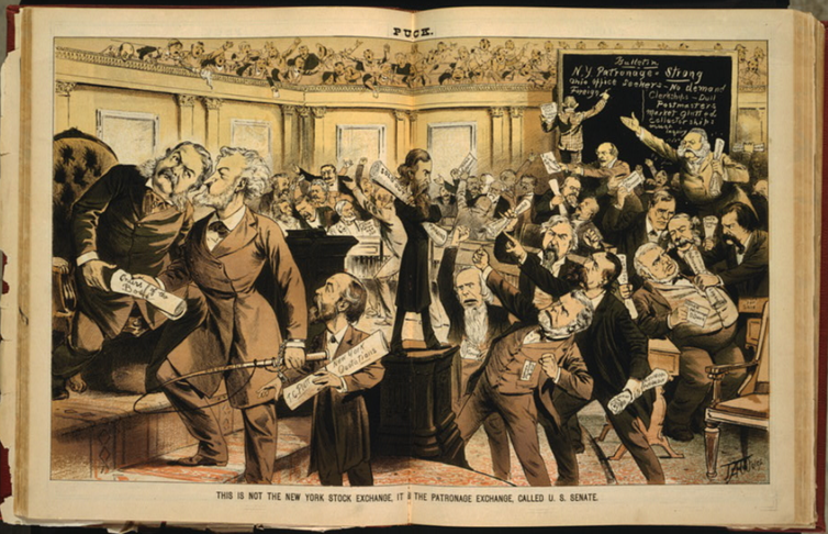Making money off of politics isn't new – it was business as usual in the Gilded Age