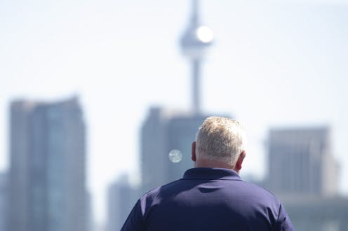 Image result for the conversation: Doug Ford: Continuing to turn his back on 'the people' despite new faces