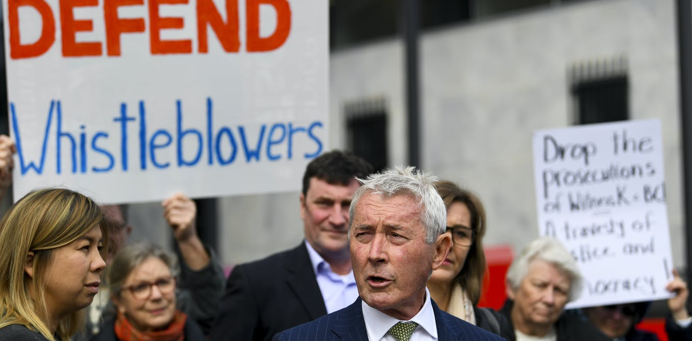 From Richard Boyle and Witness K to media raids: it's time whistleblowers had better protection
