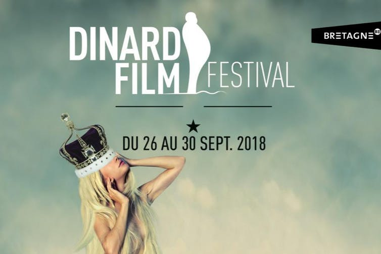 Crowning glory: the 2018 Dinard Film Fetival poster