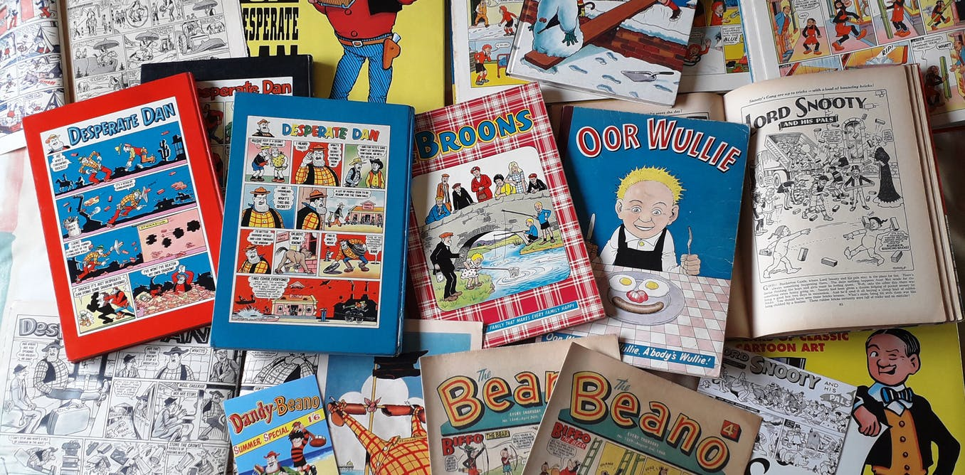 How Beano and Dandy artist Dudley D. Watkins made generations of comic fans roar with laughter