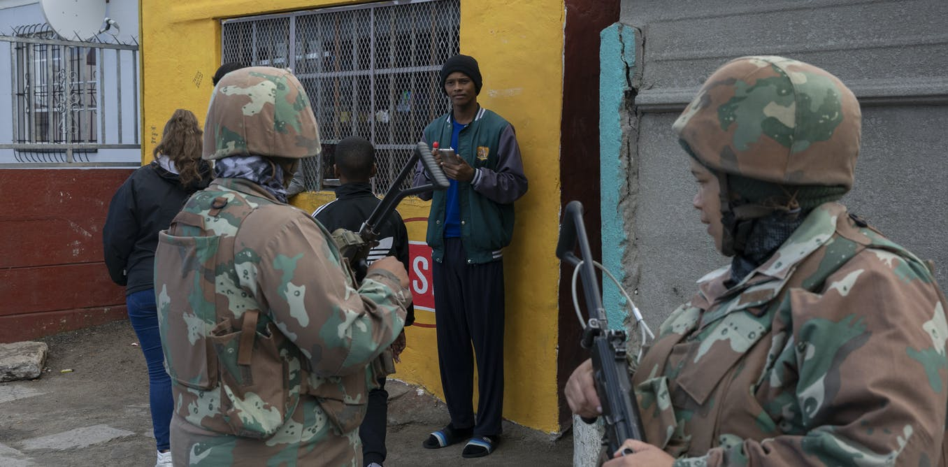 Soldiers won't stem gang violence because South Africa's army is in a sorry state