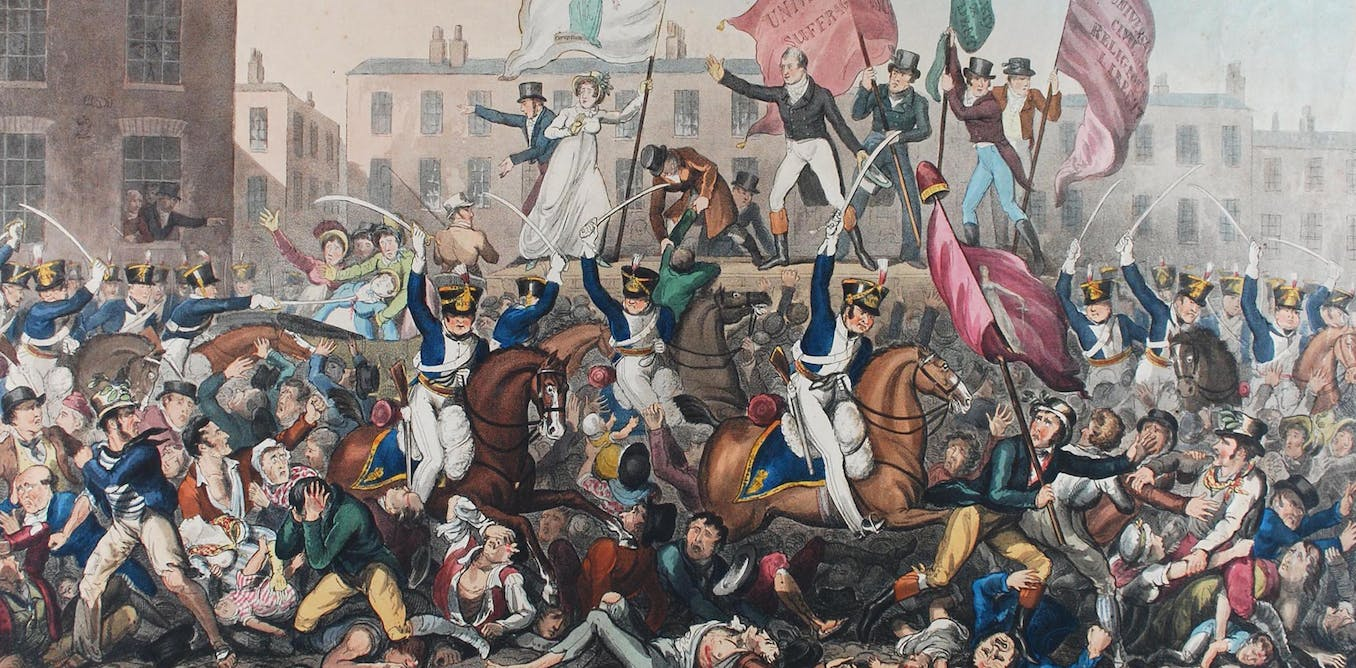Peterloo massacre: how women's bravery helped change British politics forever