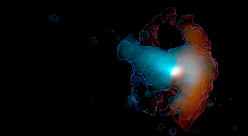 How we discovered a glowing galactic ghoul
