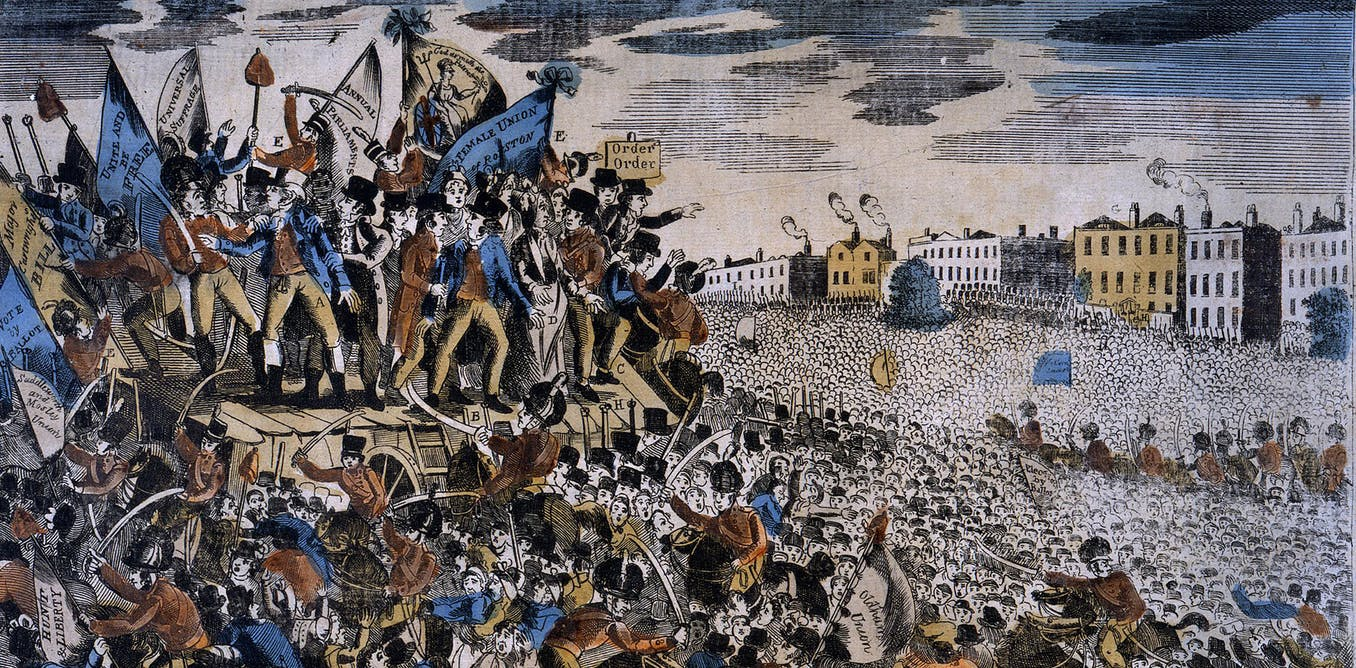 Peterloo and Amritsar – 100 years apart but united in the bloody history of Britain's empire