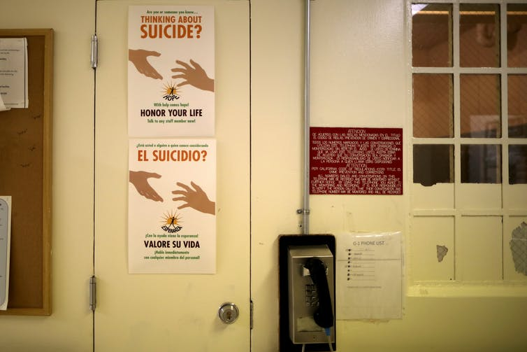 Who is responsible when an inmate commits suicide?