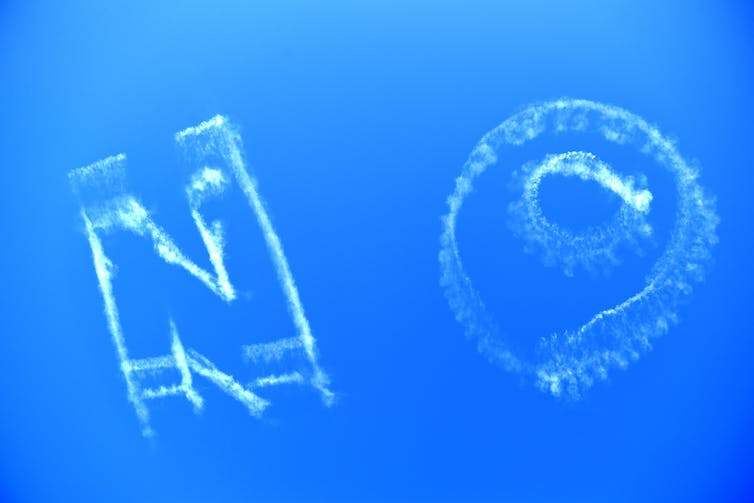 Free speech or sky vandalism? Here's what the law says about skywriting in Australia