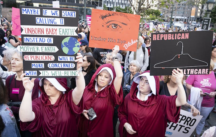 How the US right-to-life movement is influencing the abortion debate in Australia