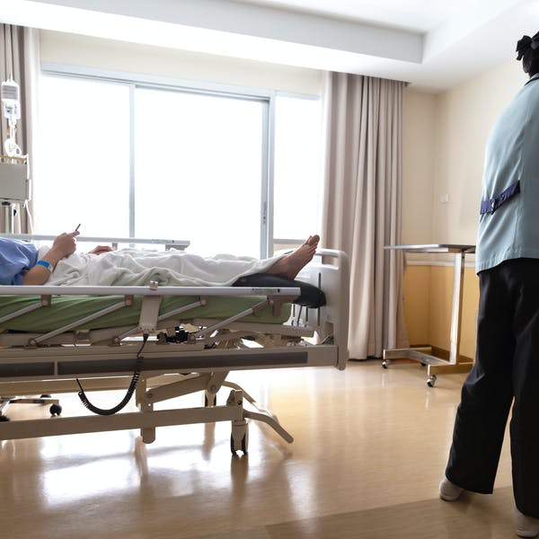 How clean is your hospital room? To reduce the spread of infections, it could probably be cleaner