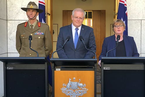 what is the conflict between the US and Iran about and how is Australia now involved?