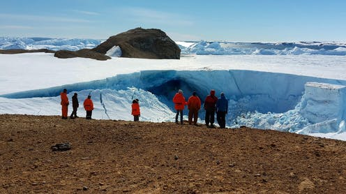 Australia wants to install military technology in Antarctica – here's why that's allowed