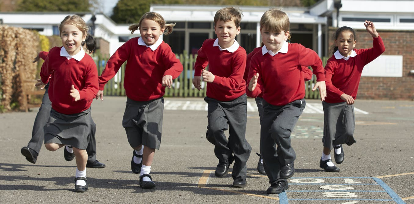 Children who have afternoon school breaks are fitter but need a structured environment