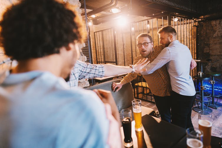 Drunk people lose their ability to interpret what the people around them are feeling.  Dusan Petkovic/Shutterstock
