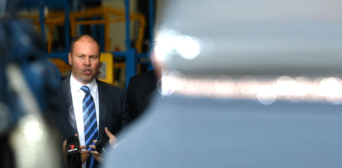 'Back yourself' Treasurer Frydenberg tells business. But it's not that simple