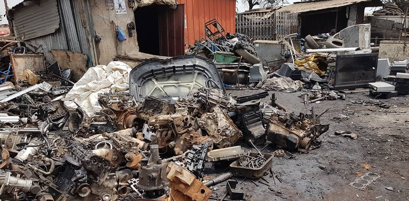 How potential of massive e-waste dump in Ghana can be harnessed