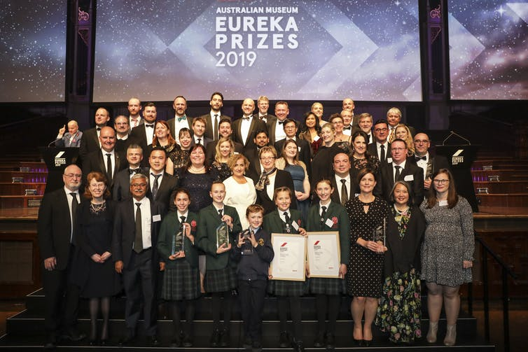 Combating cancer, finding frogs, building bones, and capturing carbon all recognised at 2019 Eureka Prizes