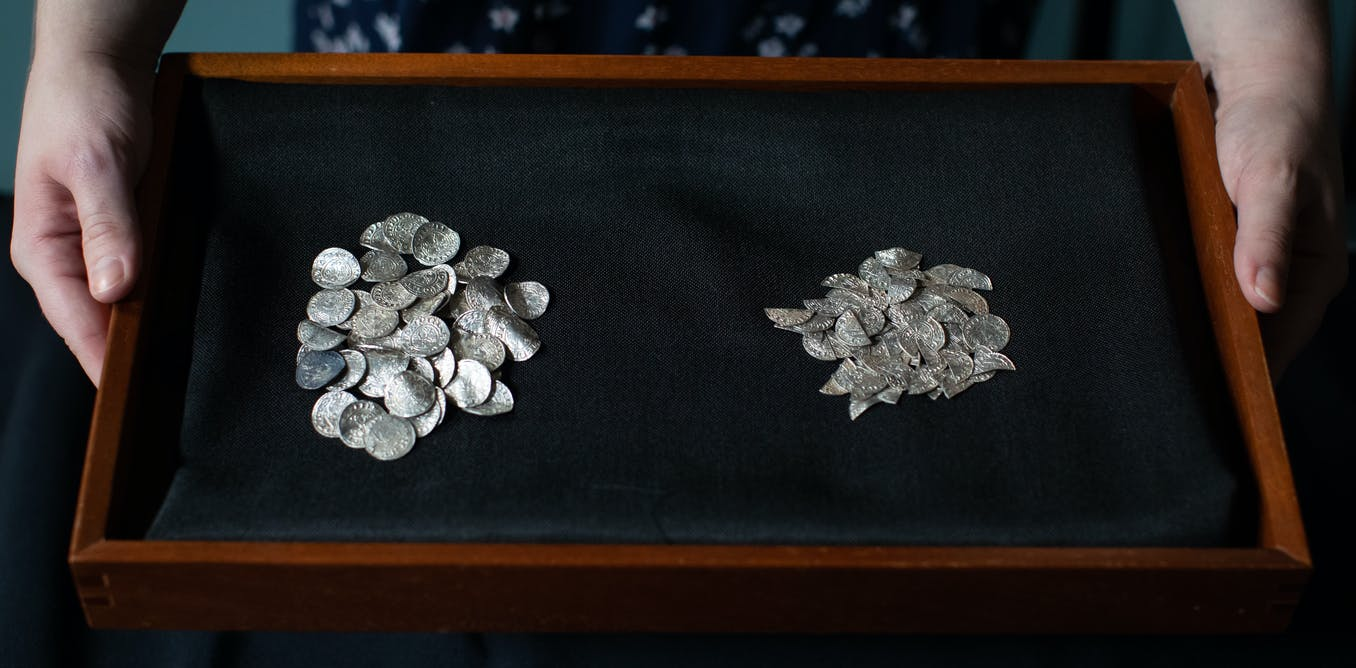 Huge find of silver coins provides new clues to turbulent times after Norman Conquest of England
