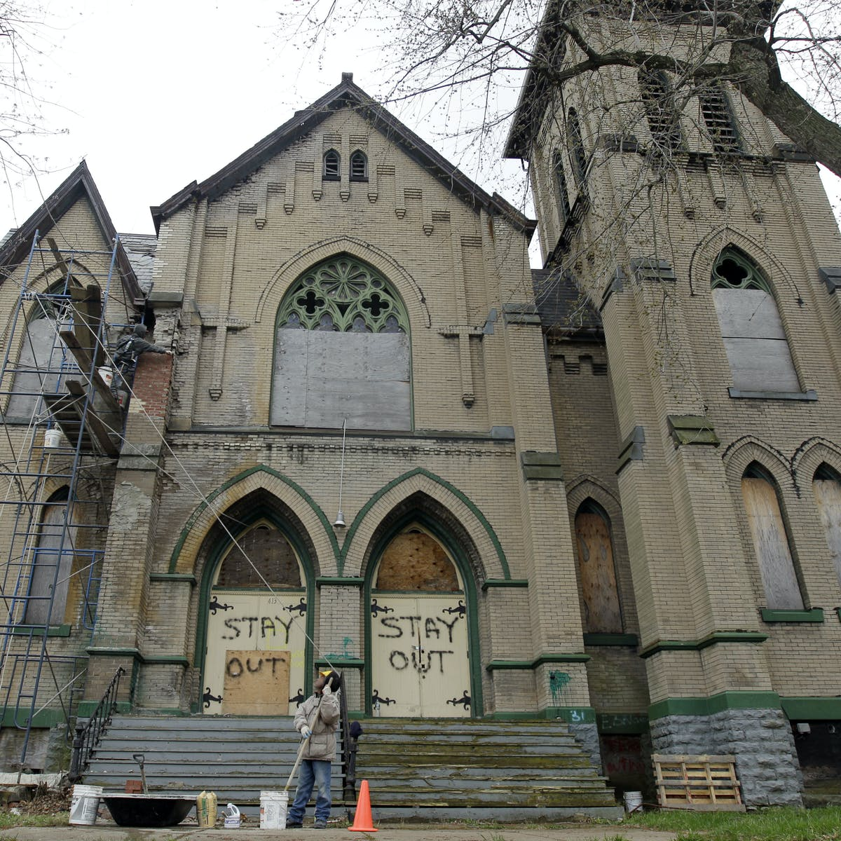A new solution for America's empty churches: A change of faith