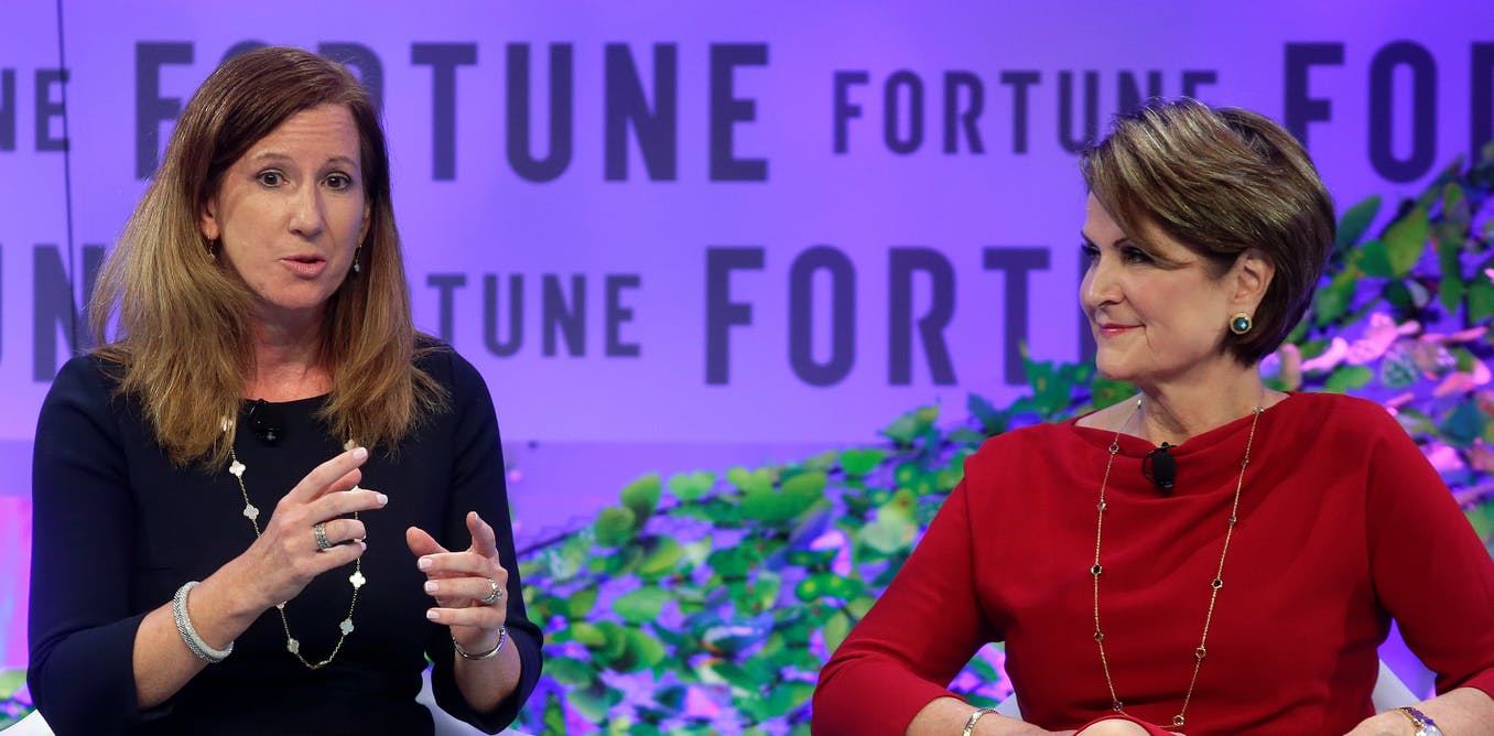 Why are there so few women CEOs?