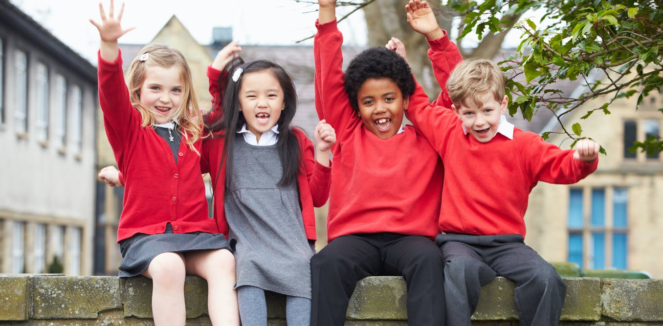 Schools could teach children how to be happy – but they foster competition instead