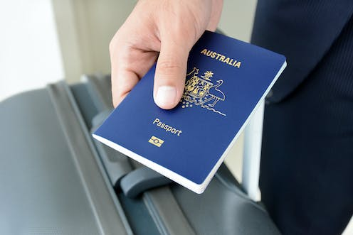 Yes, you can hold an Australian passport but not be a
