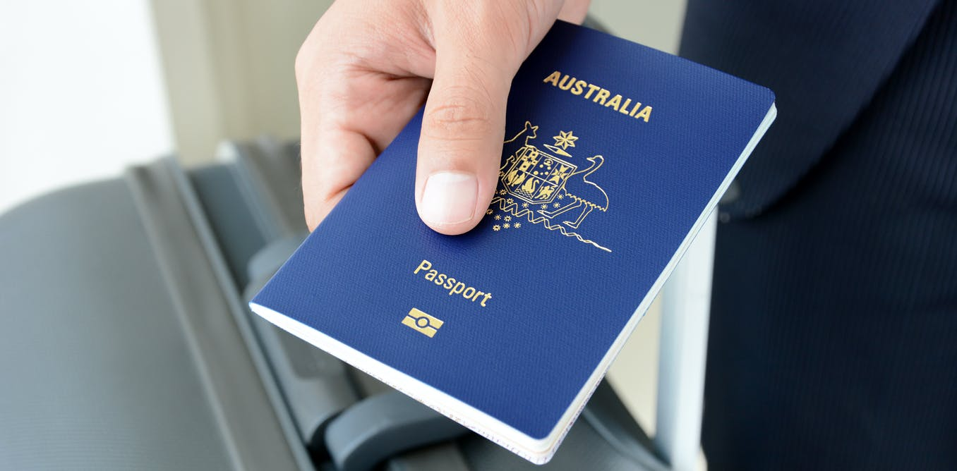 Yes, you can hold an Australian passport but not be a citizen – here's how