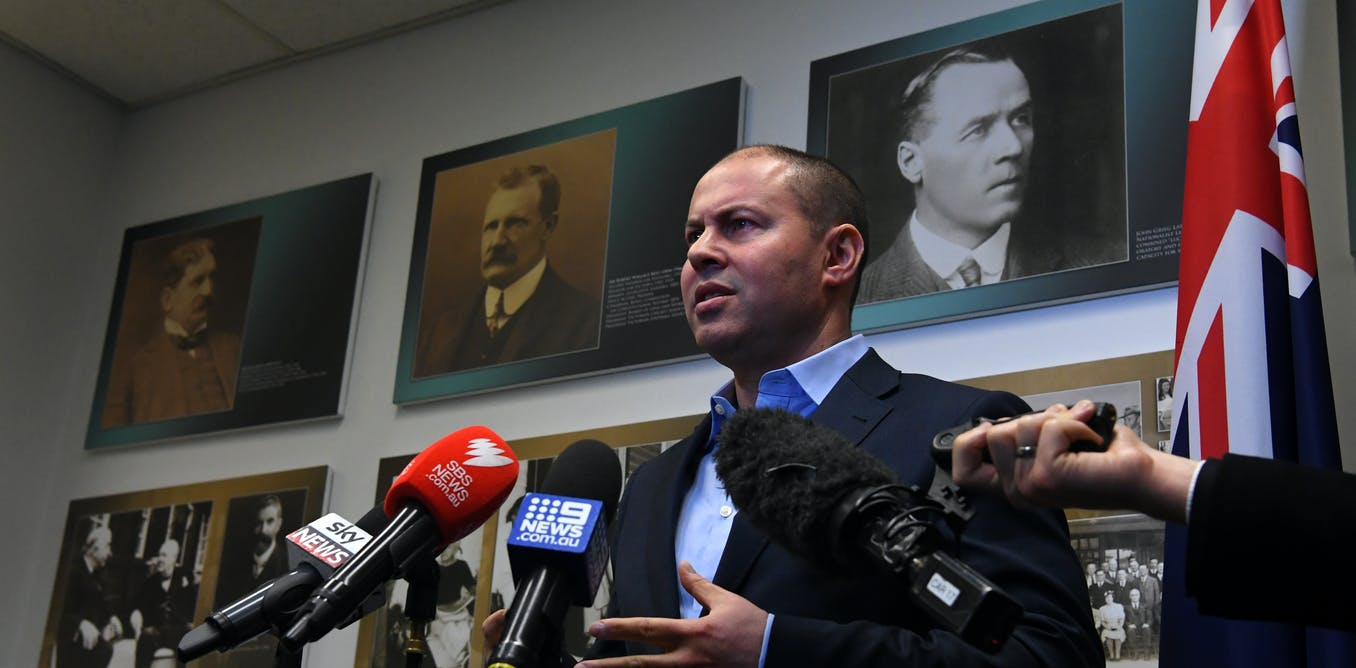 Politics with Michelle Grattan: Treasurer Josh Frydenberg on a slowing economy