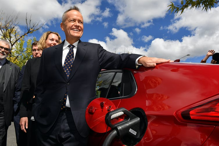 Bill Shorten electric vehicle