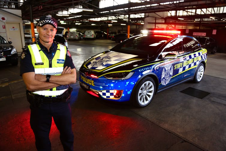 first all-electric vehicle Victoria Police