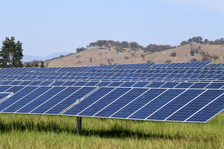 Australia has met its renewable energy target. But hold off on the champagne