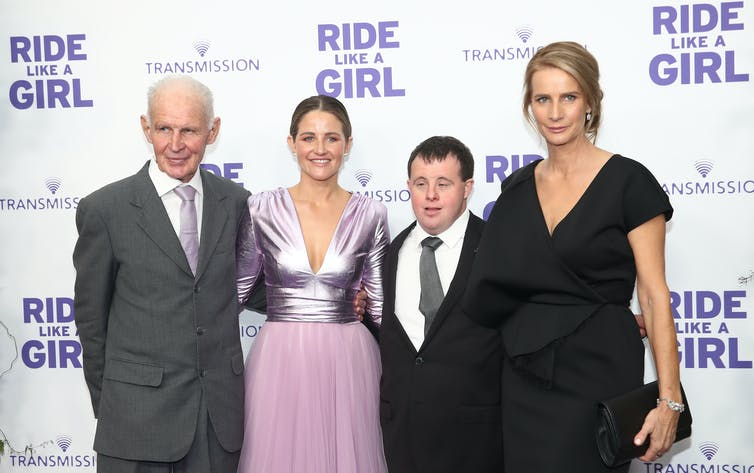 In Ride Like a Girl, Rachel Griffiths feminises the traditionally male hero's journey