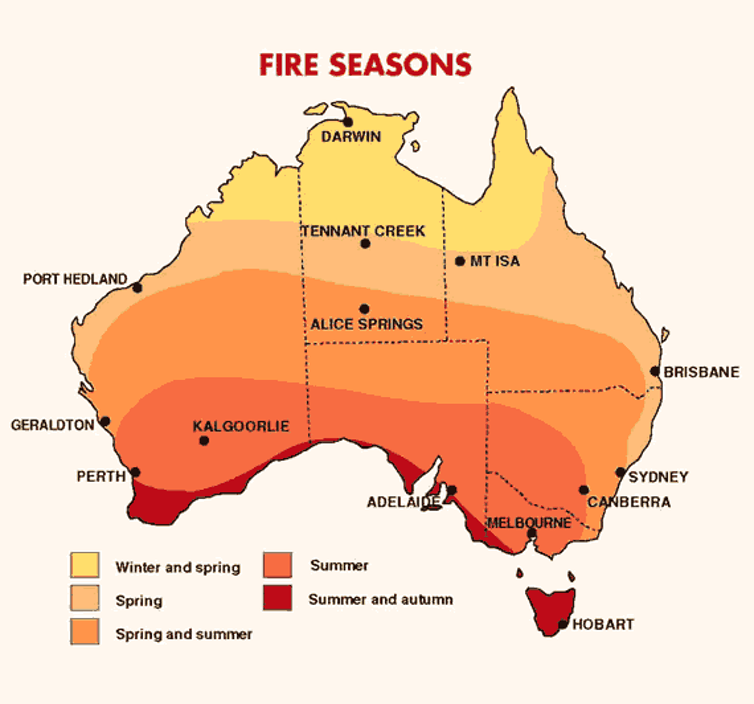 Climate change is bringing a new world of bushfires