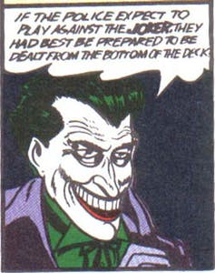 The Joker Original Comic