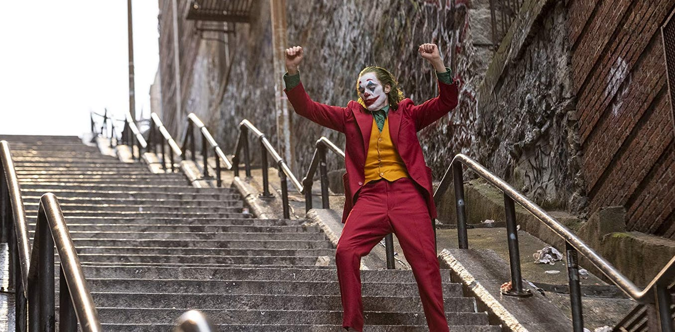 The Joker's origin story comes at a perfect moment: clowns define our times