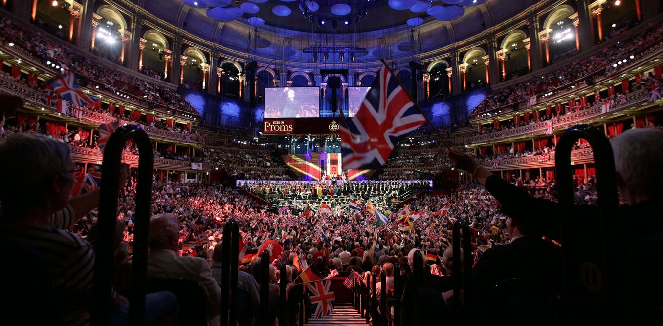 Last Night of the Proms: flags and fanfare can't hide the divisions in Brexit Britain