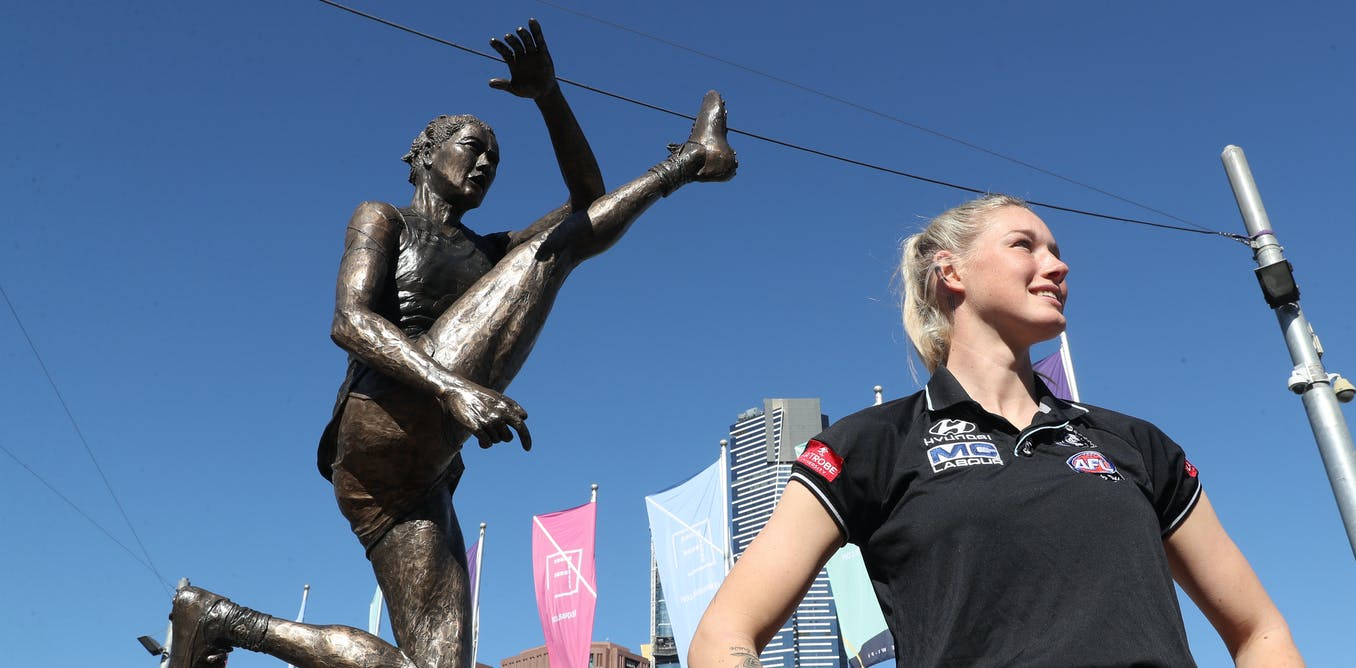 More than a kick: sporting statues can enshrine players and also capture pivotal cultural moments