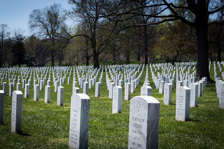 Cementerio Nacional de Arlington.Foto: Mark Thomas / Pixabay