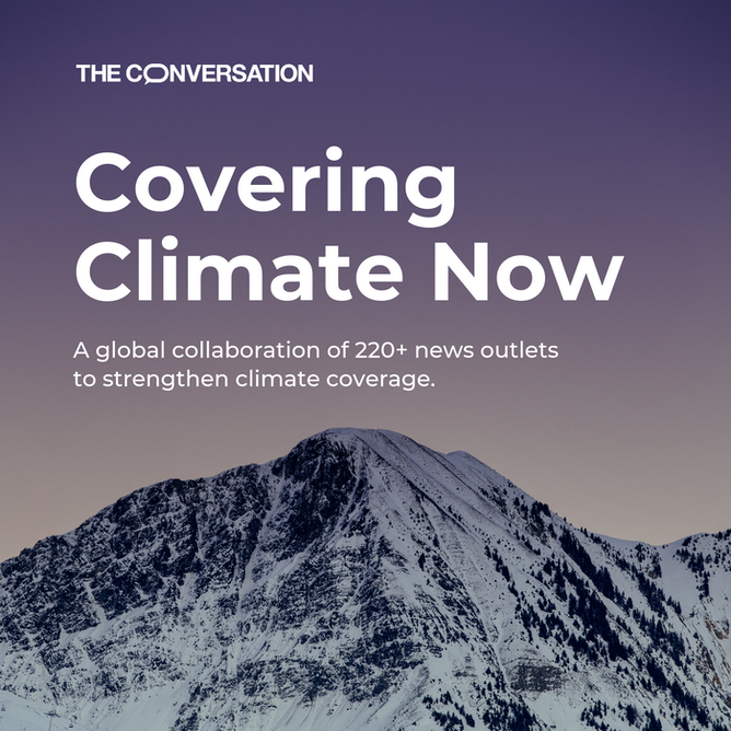 For evidence-based climate change coverage