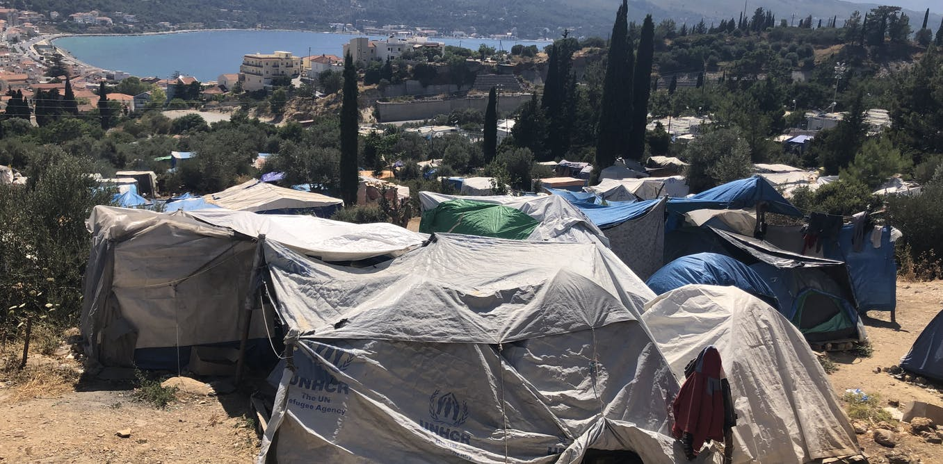 More refugees arrive on Greek islands amid overcrowding and water shortages - The Conversation - UK