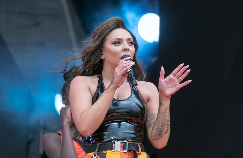 Little Mix member Jesy Nelson confronts the harsh