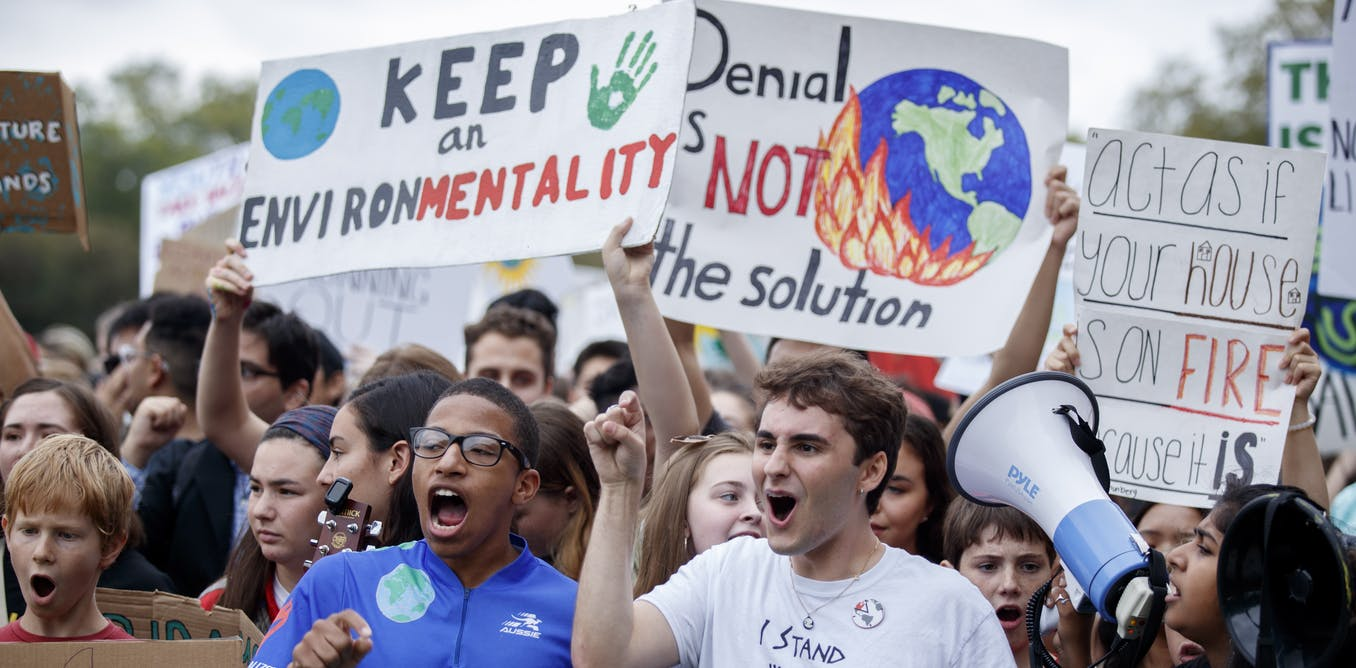 Why attending a climate strike can change minds (most importantly your own) - The Conversation AU