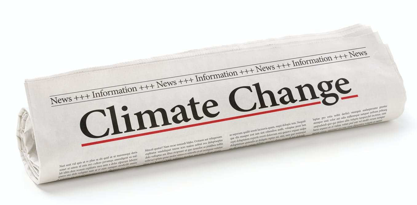 Why is climate change still not top of the news agenda? - The Conversation UK