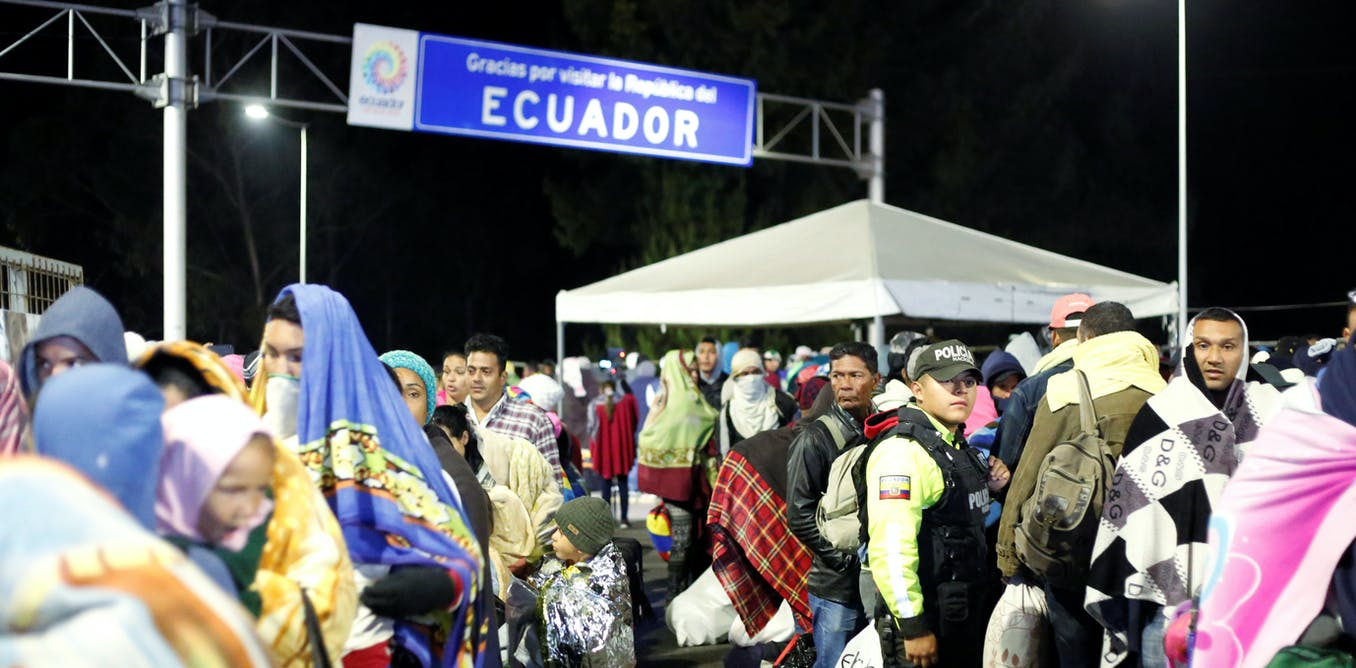 Latin America shuts out desperate Venezuelans but Colombia's border remains open – for now