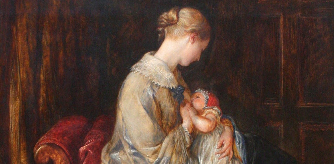 Breast or bottle feeding: the debate has its origins in Victorian times
