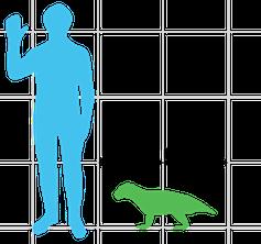 Simosuchus vs human