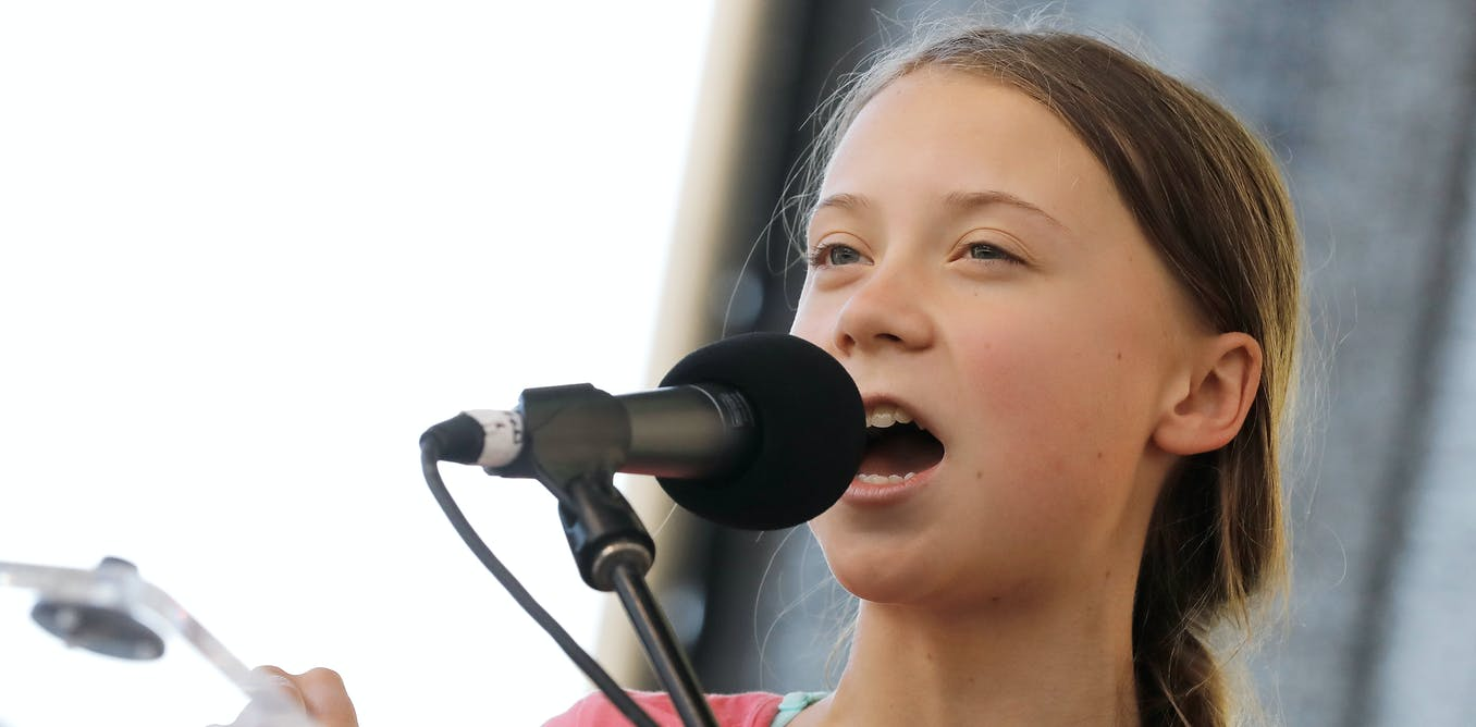 Greta Thunberg's voice speaks just as loud as her words