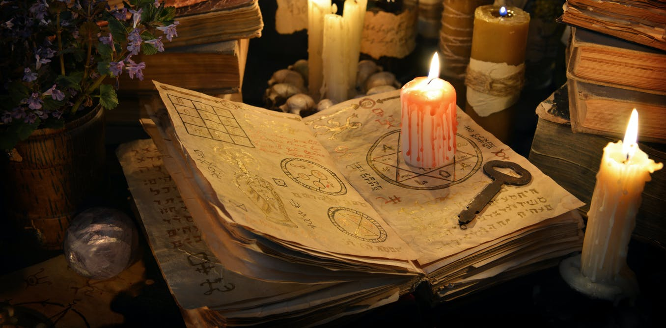 In medieval England magic was a service industry used by rich and poor alike